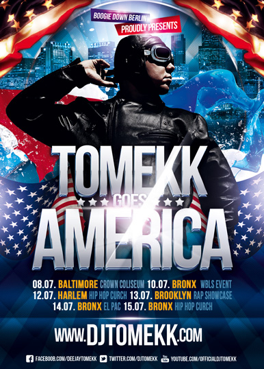 2012 Tomekk goes America Tour