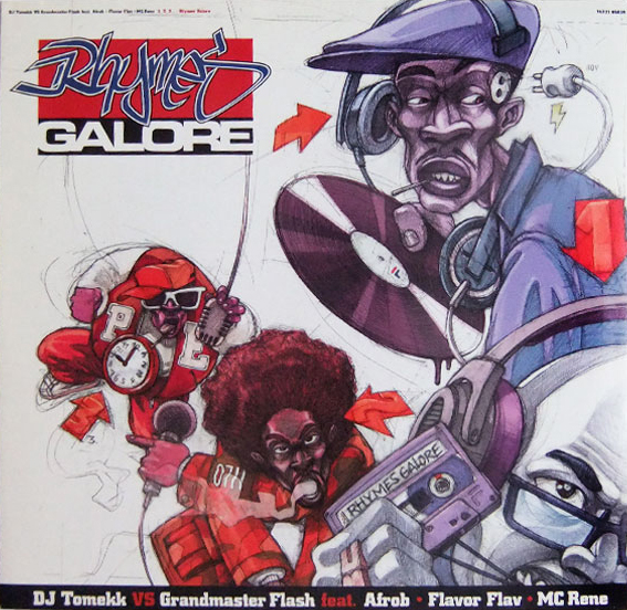 "1999 Single:  ""1,2,3 Rhymes Galore"" featuring Flavor Flav, Jazzy Jeff, Afrob, Mc Rene"""