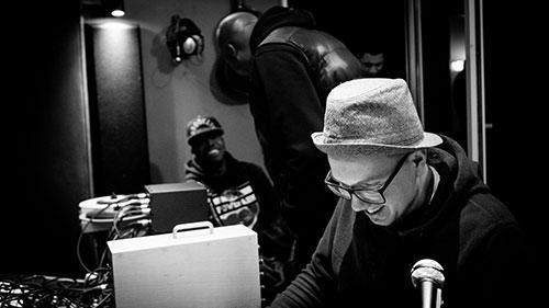 2017: Im Studio mit M.O.P.