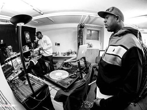 2016: Im Studio mit Wu Tang Clan